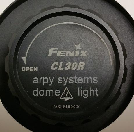 Fenix Lasergravur Taschenlampe